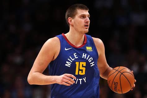 Nikola Jokic the Nuggets first all-star since Carmelo