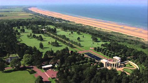 Normandy American Cemetery - YouTube