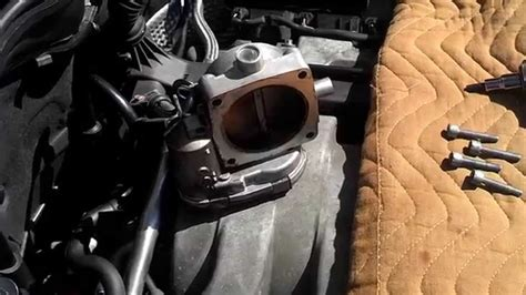 Mercedes C240 2001 Faulty Throttle Body Removal - YouTube