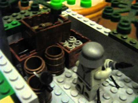 Lego WWII MOC: D-Day - YouTube