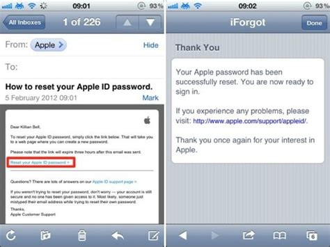 Change Or Reset Your Apple ID Password On Your iOS Device