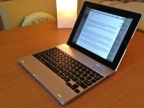 The Notebook Case For iPad: Looks Like A MacBook, Feels