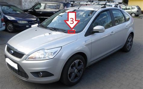 Ford Focus (2008-2011) - Where is VIN Number   Find