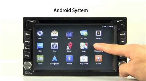 Radio 2 Din Android Wifi y 3G compatible, Xtrons TD610A
