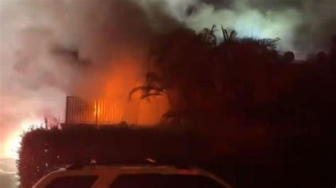 Cold weather an apparent factor in South Florida fire and