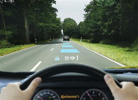 Continental Shows Its Augmented Reality Head-up Display
